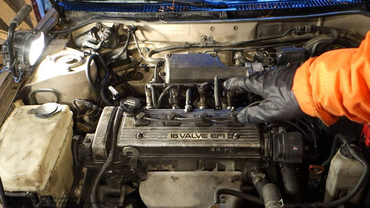 1995 toyota camry engine diagram 2001 ford focus alternator wiring pcv valve location corolla. years 1992 to 2000 - youtube