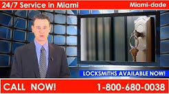 Locksmith 33142 | Call 1-800-680-0038 Now | Locksmith Miami