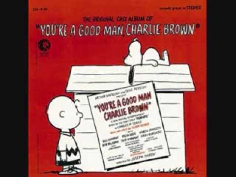 book report youre a good man charlie brown sheet music