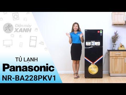 Tủ lạnh Panasonic 188 lít: màu đen nói lên tất cả (NR-BA228PKV1) • Điện máy XANH