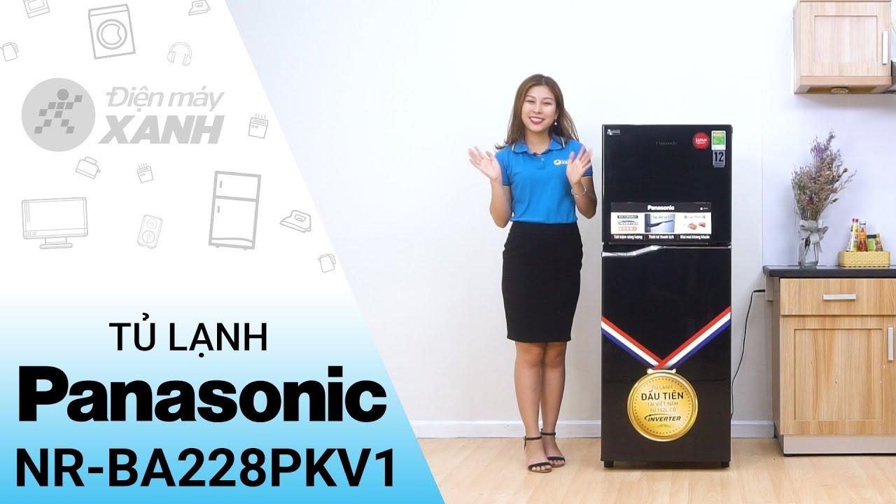 Tủ lạnh Panasonic 188 lít NR-BA228PKV1 – Màu đen nói lên tất cả | Điện máy XANH