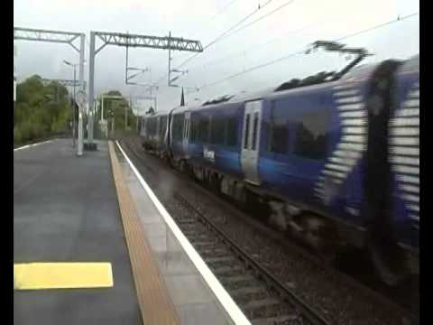 Trains At Paisley Gilmour Street (10th August 2011)