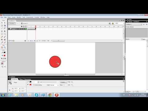 สื่อการเรียนการสอนโดยใช้โปรแกรม Macromedia Flash 8
