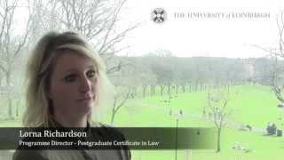 Postgraduate Certificate in Law by online distance learning