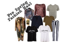 WSITN: Pre Spring Fashion Haul Thumbnail