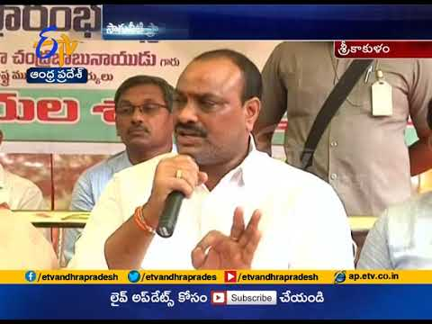 Speed Up Works   Irrigation Projects Across The State   Minister Acham Naidu