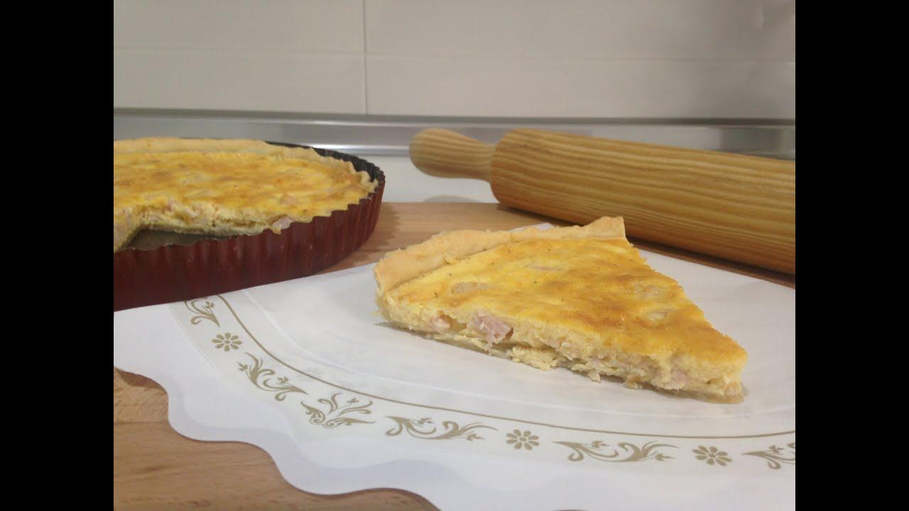 Receta quiche monsieur cuisine silvercrest lidl youtube for Silvercrest monsieur cuisine