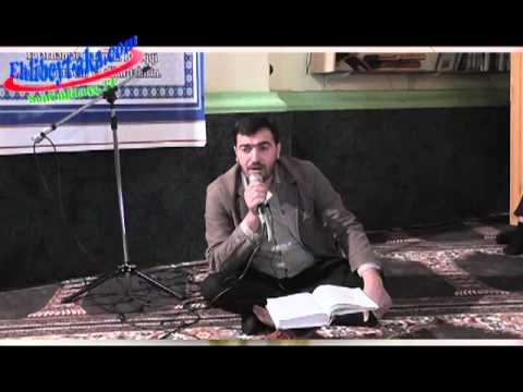 Hacı İlkin Qurani kerim dersi Kovser suresinin oxunushu tehqiq