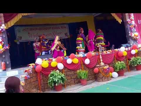 BADHAI FOLK DANCE BY STUDENTS OF JYOTI SEN SEC SCHOOL REWA MP