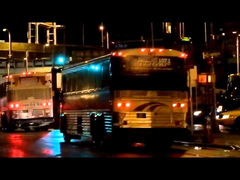 New Jersey Transit MCI Commuter Buses & Other Buses @ Port Authority Bus Terminal