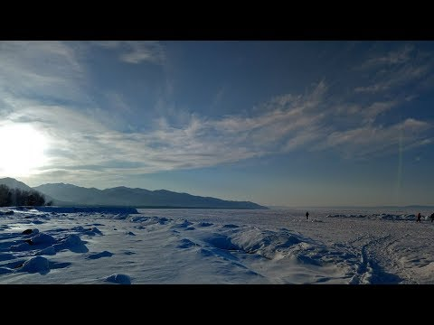 Спуски с горы Соболиная. Город Байкальск