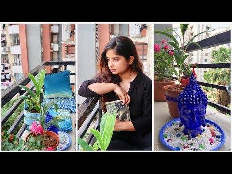 DIY Glam Balcony Makeover || My Indian Balcony Garden || Real Home , Budget Design