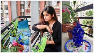 DIY Glam Balcony Makeover || My Indian Balcony Garden || Real Home , Budget Design