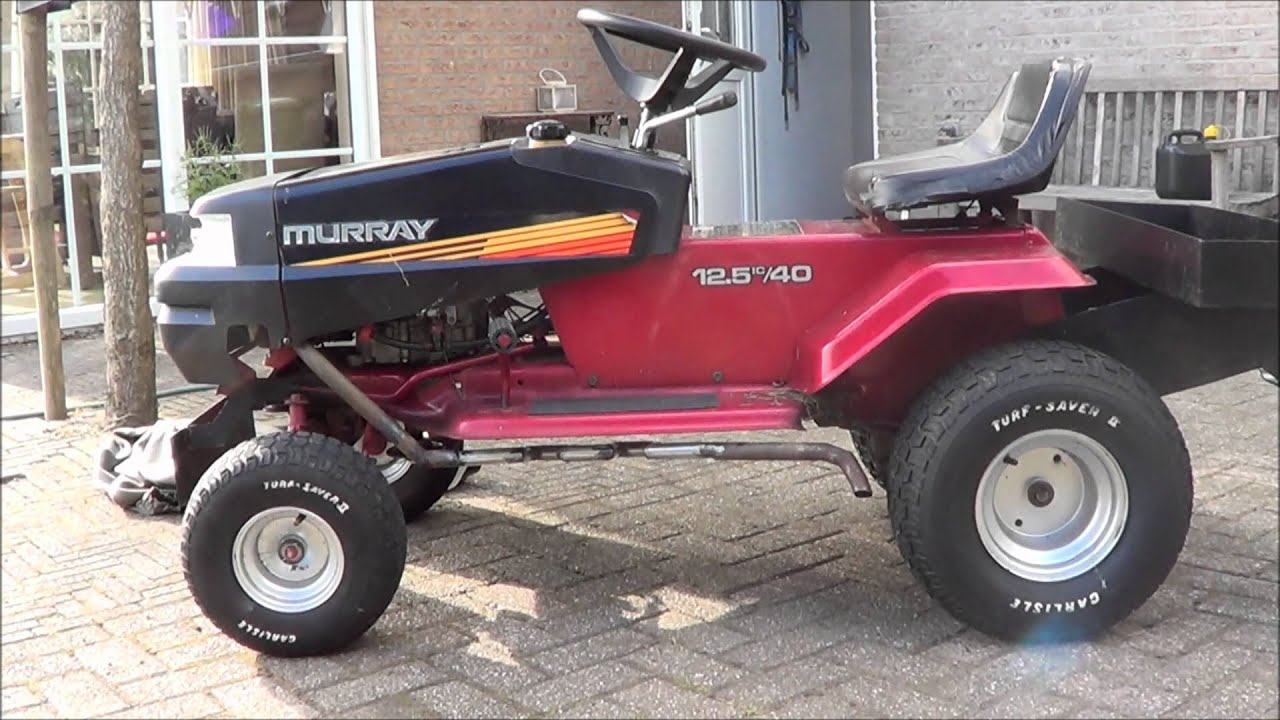 Lawn Tractor Mufflers : Mulfled racing lawn mower exhaust youtube