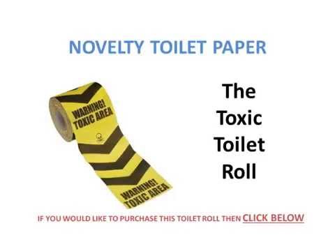 Word Of The Day Novelty Toilet Paper Youtube