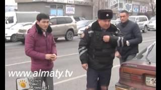 Таңғы Алматы - жол патрульдик полициясы