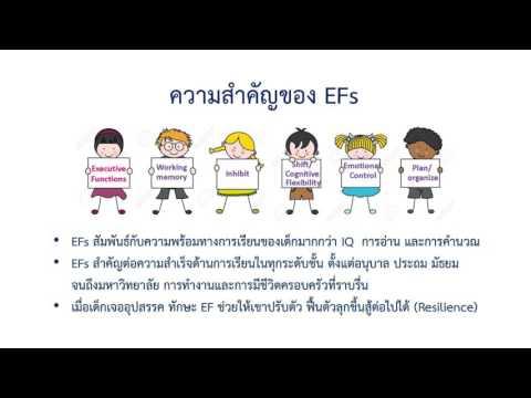 วิจัยเพื่อสังคม - แบบประเมินด้านการคิดเชิงบริหาร(EF)เด็กปฐมวัย ตอน2