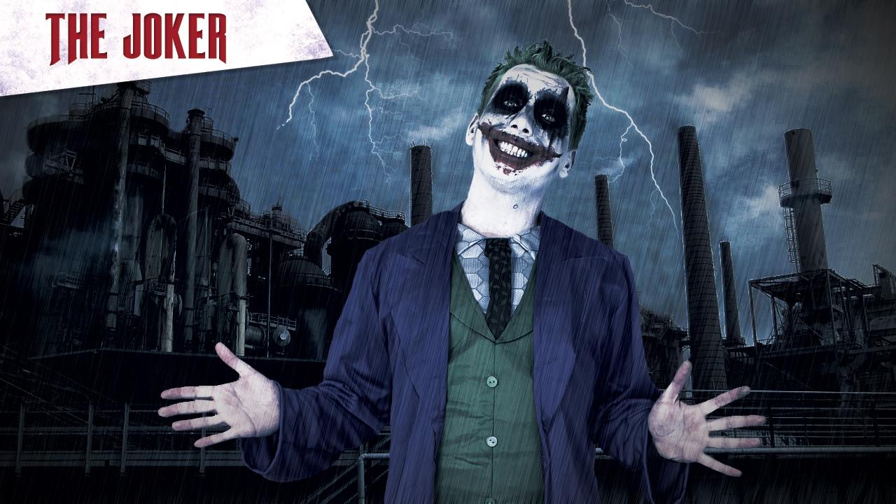 Halloween Sminkning Joker.The Joker Grym Sminkning Till Halloween