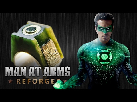 Green Lantern Power Ring - MAN AT ARMS: REFORGED