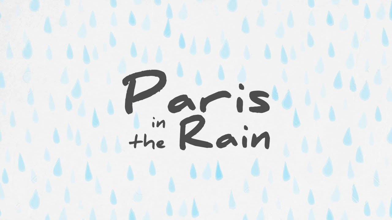 lauv paris in the rain lyric video youtube. Black Bedroom Furniture Sets. Home Design Ideas
