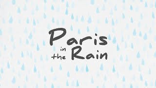 lauv paris in the rain lyric video