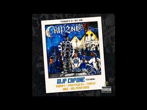 Slip Capone Ft Kurupt,Baby Eazy E3,Threat,NME, & Big Tray Deee – Crip2Nite