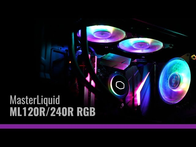 Cooler Master's ARGB Liquid Coolers Is ASUS, MSI & ASRock Certified