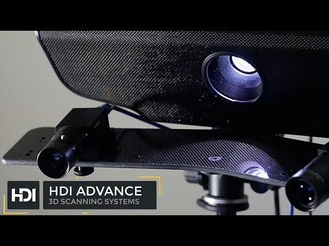 HDI Advance professional grade 3D scanner  Powerful 3D Scanning systems