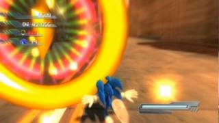 Sonic The Hedgehog (2006) Part 4 - THE WHOLE GAME'S ON FIRE