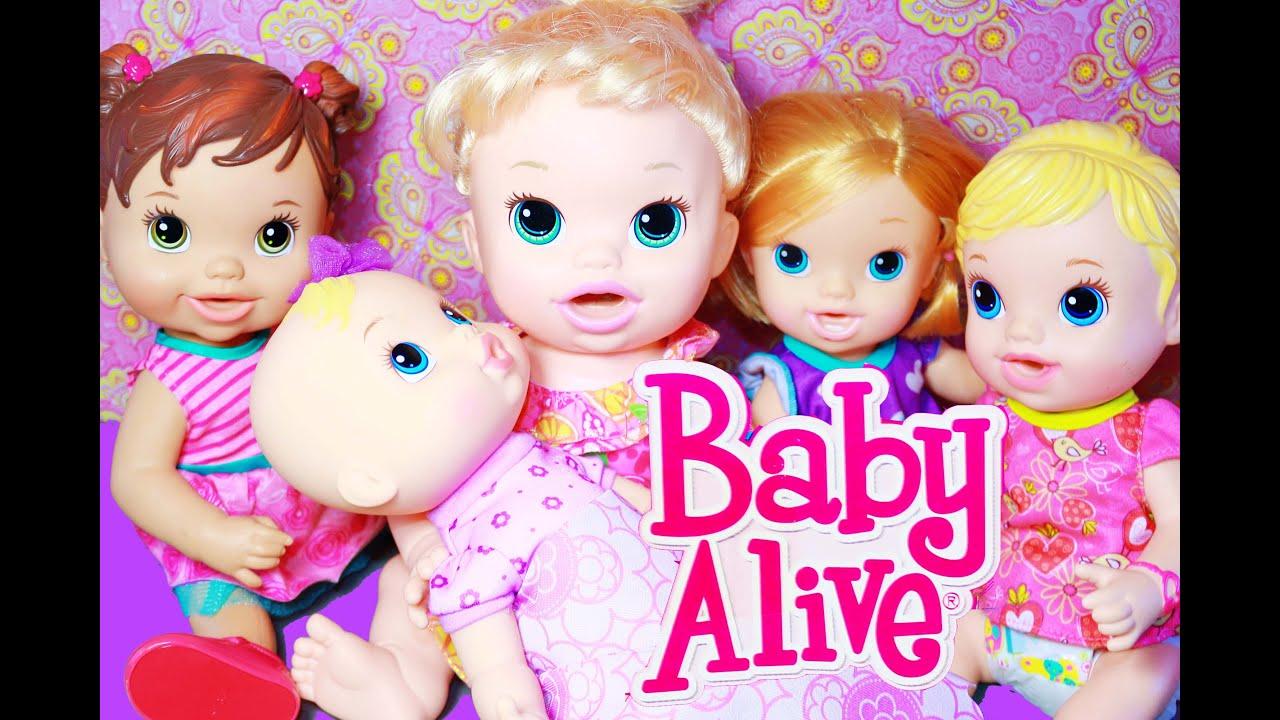 Baby Alive Newborn New Baby Girl Big Sister Dolls