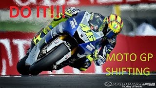 what is moto gp shifting   should you do it