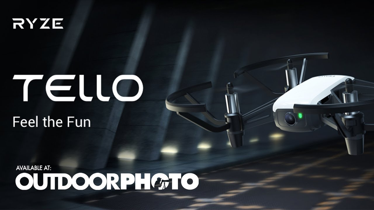 Say hello to DJI Tello – the fun party drone | Outdoorphoto Blog
