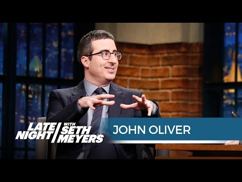 John Oliver Is in Awe of the Super Bowl - Late Night with Seth Meyers