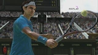 Virtua Tennis 4 PC Gameplay *HD* 1080P Max Settings