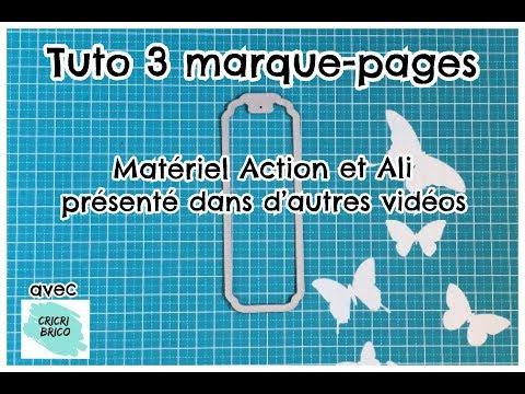 Action et Ali: tuto marque-pages avec cuir, feuilles autocollantes ...