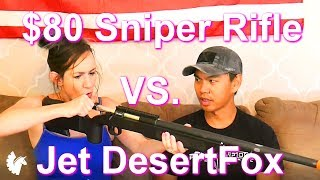 WATCH OUT, NOVRITSCH! (M40A3 Sportline Unboxing + Shoot My Husband)