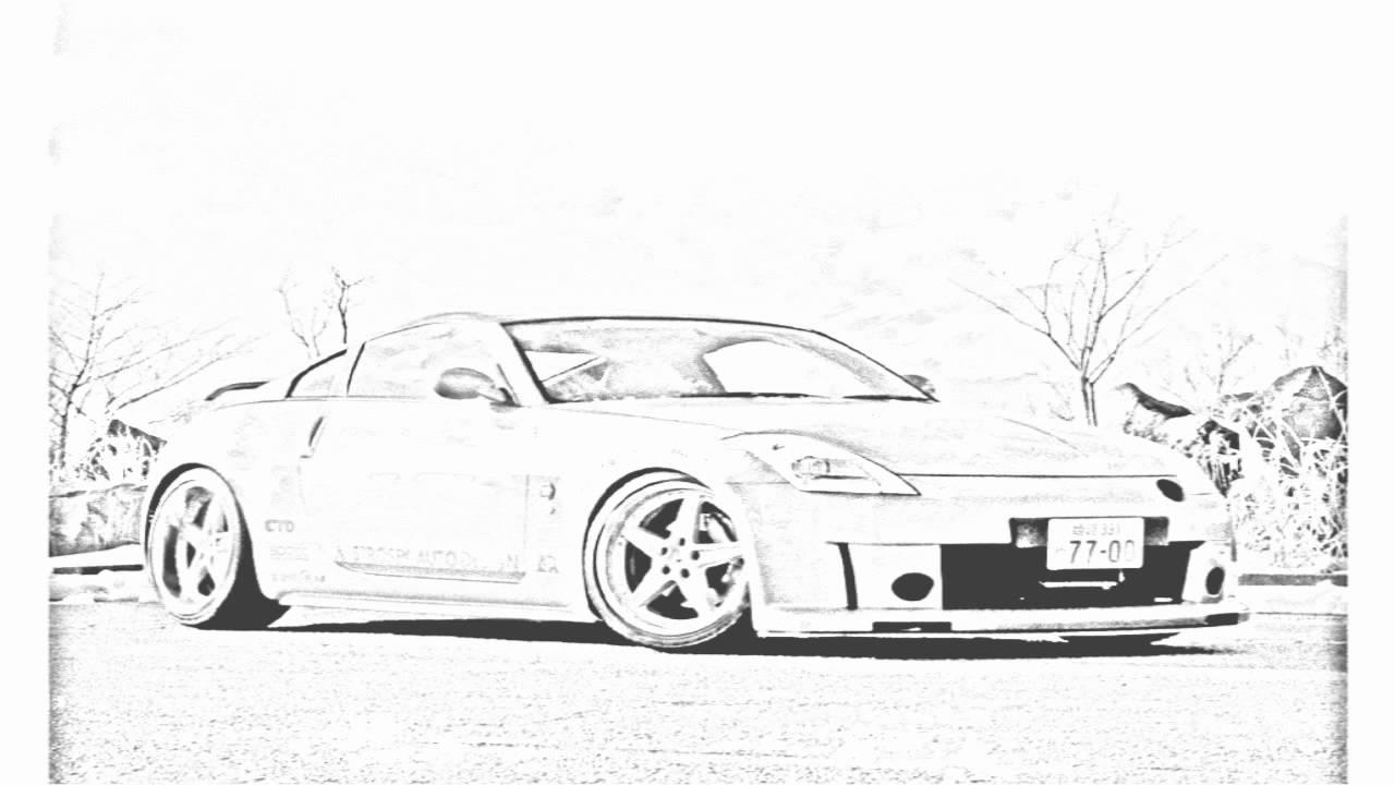 Used 350z For Sale >> Auto Draw 2: Nissan 350Z Orange - YouTube