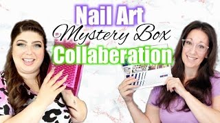 Nail Art Collaboration with Nails By Jen | Mystery Box Challenge