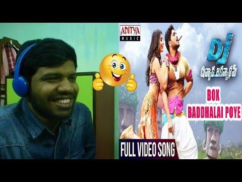 Box Baddhalai Poye Full Video Song|DJ|Allu...