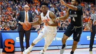 Syracuse Orange vs. Georgetown Hoyas