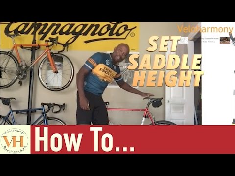 Saddle Height Road bike - Tips for getting it Right and why it's important