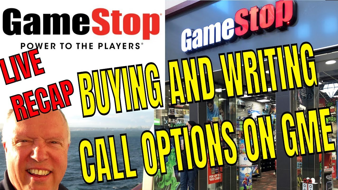 MAKING MONEY BUYING AND WRITING CALL OPTIONS ON GAMESTOP SOFI VGAC FAII WITH UNCLE BRUCE