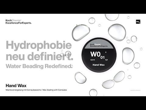Hand Wax W0.01: Die Anwendung.   Koch-Chemie ExcellenceForExperts.