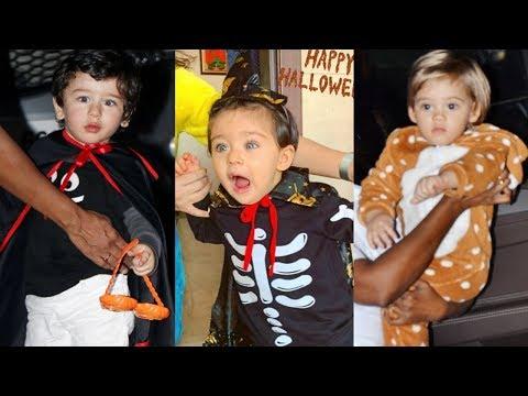 Bollywood Star Kids At Halloween Party 2018 -Taimur Ali Khan, Inaaya Khemu, Yash Johar, Roohi Johar Mp3