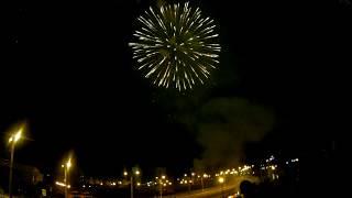 Салют в Саранске на День Города 12 июня 2017 г.