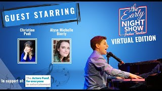 S5 Ep9 Joshua duets w SiriusXM On Broadway host Christine Pedi, and plays w Alyse Michelle Bierly.