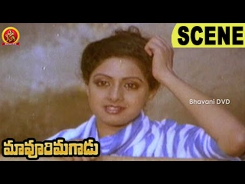 Sridevi Aggress Goons - Comedy Fight Scene - Action Scene - Maavoori Magaadu Movie Scenes