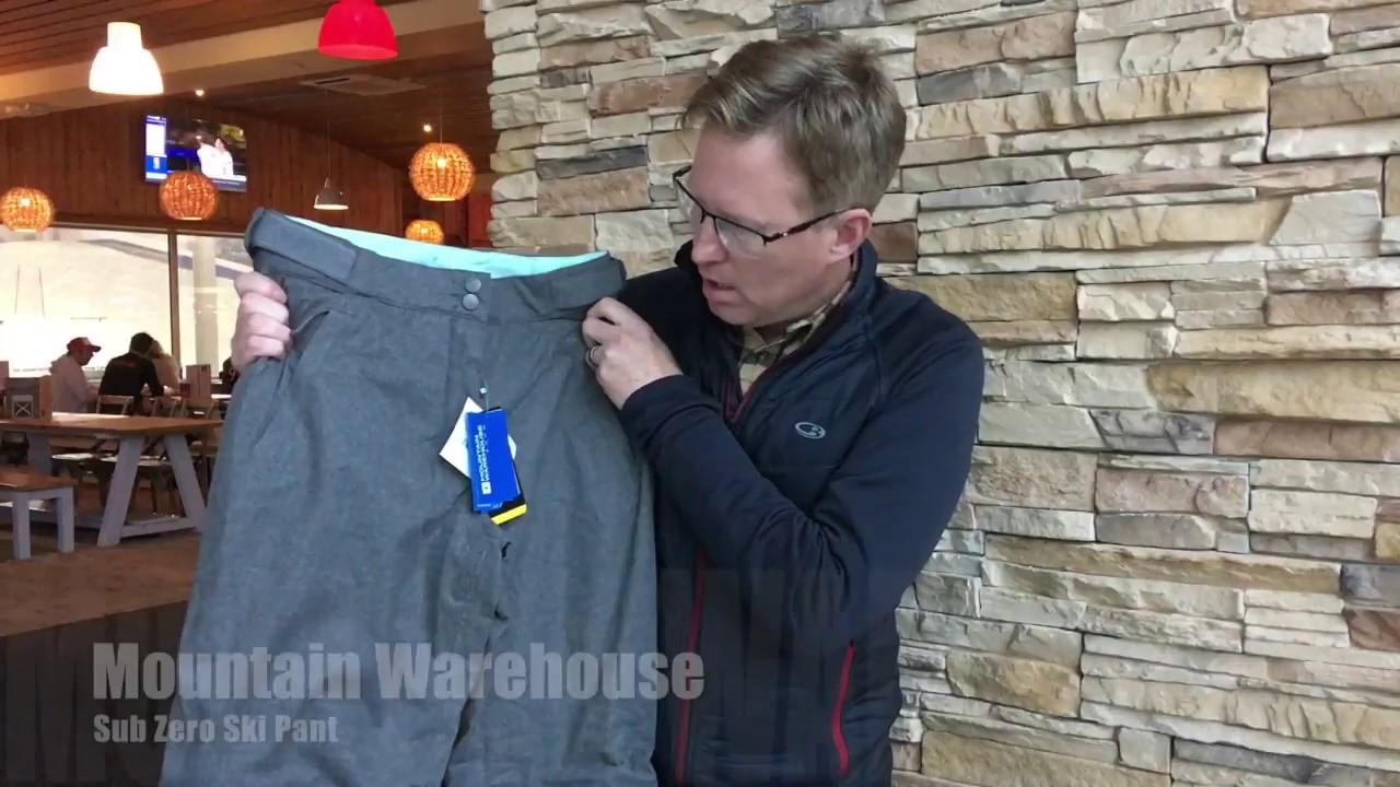 Mountain Warehouse Sub Zero Womens Ski Trousers Warm Ladies Pants