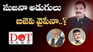 Will TDP Ex MP Sujana Chowdary Shifting To BJP...? | Dot News