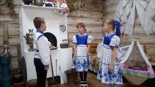 Страна читающая— «Иван да Марьи» читают произведение «Русские народные загадки» (Русский фольклор )
